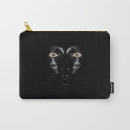 woman cat Carry-All Pouch