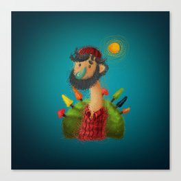 Woodcutter Canvas Print