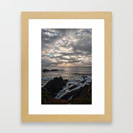 Hartland Peninsula  Framed Art Print