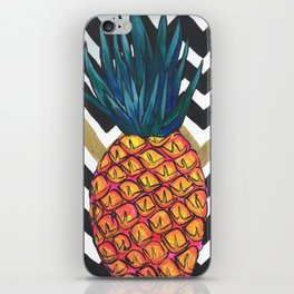 Pineapple Chevron iPhone Skin