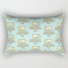 Cave Vulture Pattern Rectangular Pillow