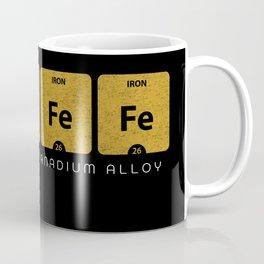 CoVFeFe is Iron Cobalt Vanadium Alloy Coffee Mug