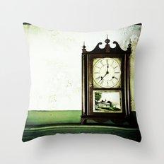 12:37 Plantation Time Throw Pillow