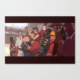 Teufort Nine Canvas Print