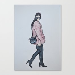 Kourtney Kardashian Canvas Print