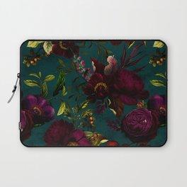 Before Midnight Vintage Flowers Garden Laptop Sleeve