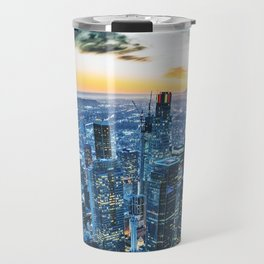 los angeles downtown Travel Mug