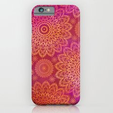 Mandala Pattern pink orange Slim Case iPhone 6s