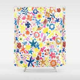 Autumm´s flowers Shower Curtain