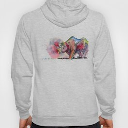 I'd rather be a rhino Hoody