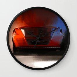 Lancia Stratos Zero Wall Clock