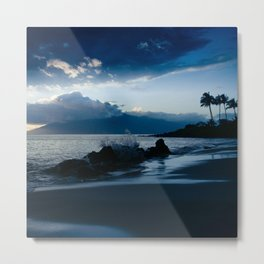 Polo Beach Dreams Maui Hawaii Metal Print