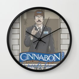 "MANAGER SAUL ""GENE"" GOODMAN Wall Clock"