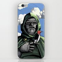 doom iPhone & iPod Skins featuring Doom by David Comito