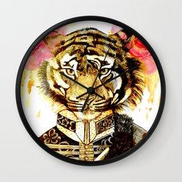 TIGRE MILITAR 1 Wall Clock