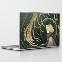 shield Laptop & iPad Skins featuring Pollen Shield by Cruz'n Creations