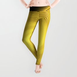 Natural Human Progression Toward Enlightenment Leggings