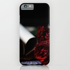 my love is like a red, red rose iPhone 6s Slim Case
