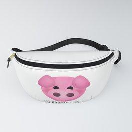So Piggin' Cute! Fanny Pack