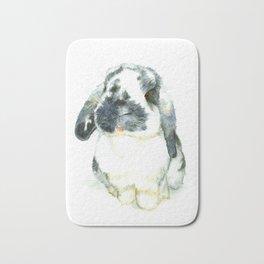 Fluffy Bunny Bath Mat
