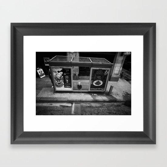 Top deck HDTV Framed Art Print