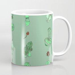 Mushroom Linear Mist Coffee Mug