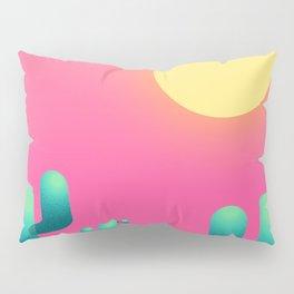 Cactus sunset Pillow Sham