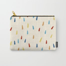 Abstract Retro Colored Rain Drops Snow Flakes - Ipotane Carry-All Pouch