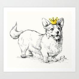 Your Highness Art Print