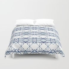 blue iron II Duvet Cover