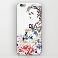 willy wonka iPhone & iPod Skins featuring Willy Wonka & The Chocolate Factory by Arielle Trenk