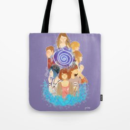 Life sure is strange Tote Bag