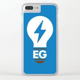 EG LIGHTBULB Clear iPhone Case