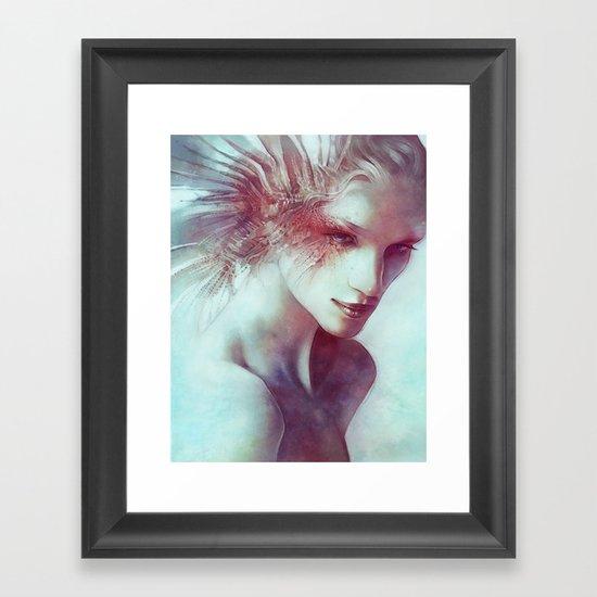 Mane Framed Art Print