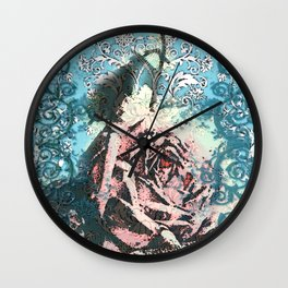 Waiting for the morning Wall Clock