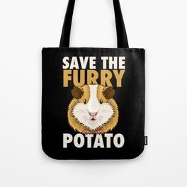 Furry Potato T-Shirt guinea pig lover gift Tote Bag