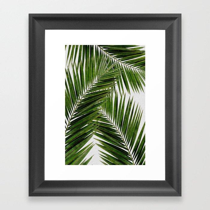 Palm Leaf III Gerahmter Kunstdruck