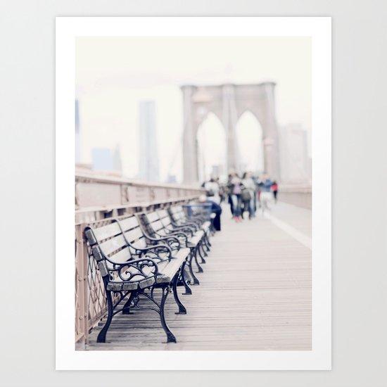 Meet Me In Brooklyn Art Print