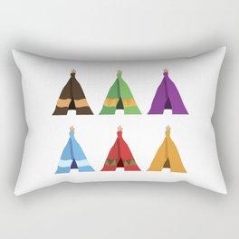 Tents Rectangular Pillow