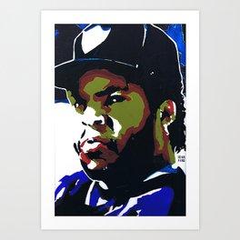 Ice Boyz N Da Hood Cube NWA Art Print