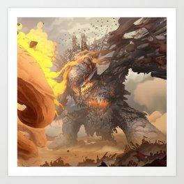 Demon of War Art Print