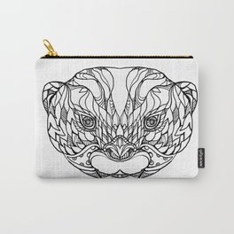 Oriental Small-clawed Otter Doodle Art Carry-All Pouch