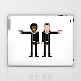 Pixel Pulp Fiction Characters Laptop & iPad Skin