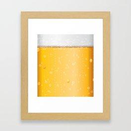 beer lovers Framed Art Print