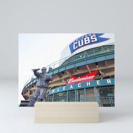 Bleacher Seats - Chicago Photography Mini Art Print