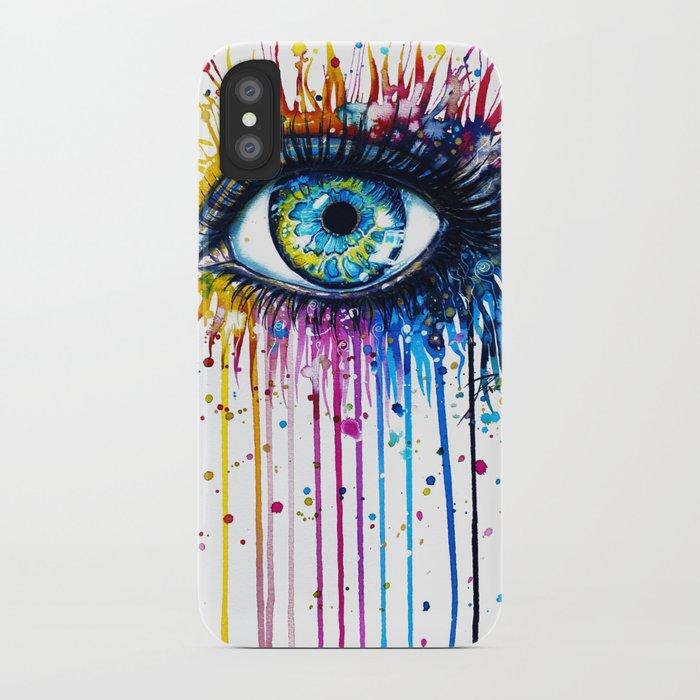 """Rainbow Eye"" iPhone Case"