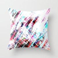 amsterdam Throw Pillows featuring Amsterdam by Kardiak