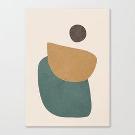 Abstract Minimal Shapes III Canvas Print