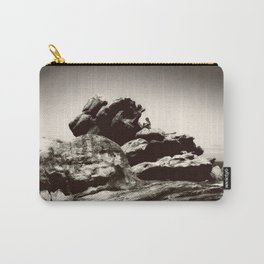 Boy On Rocks Carry-All Pouch
