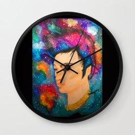 Galaxy Boy Wall Clock